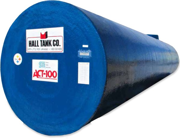 ACT-100 Single / Double-Wall Steel Underground Tank