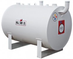 F921 Double-Wall Horizontal Steel Storage Tank