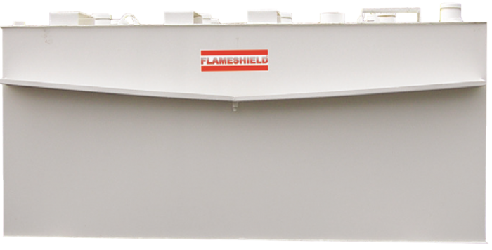 Flameshield Fire-Tested Steel Rectangular Storage Tank