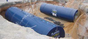 Pasteel Double-Wall Elutron® Jacketed Underground Tank