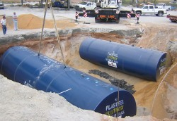 Pasteel Double-Wall Elutron® Jacketed Underground Tank