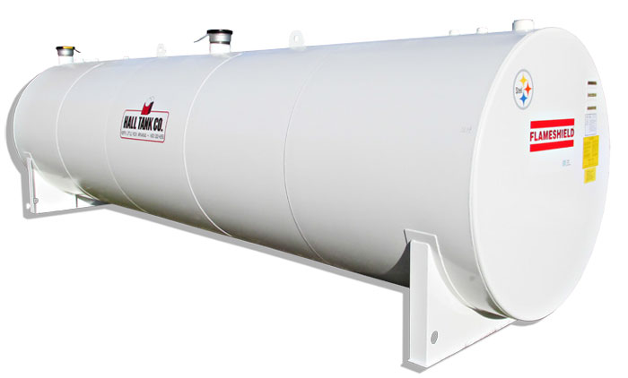 Flameshield Fire-Tested Steel Horizontal Storage Tank