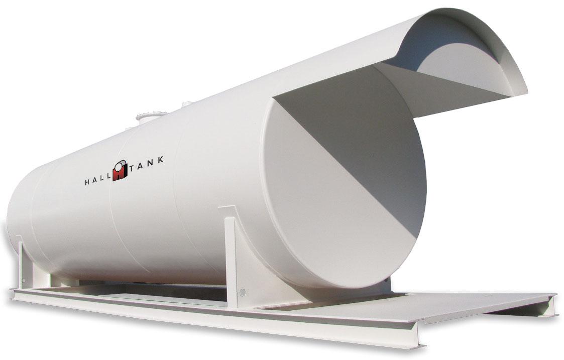UL-142 SINGLE-WALL ATMOSPHERIC HORIZONTAL STORAGE TANK