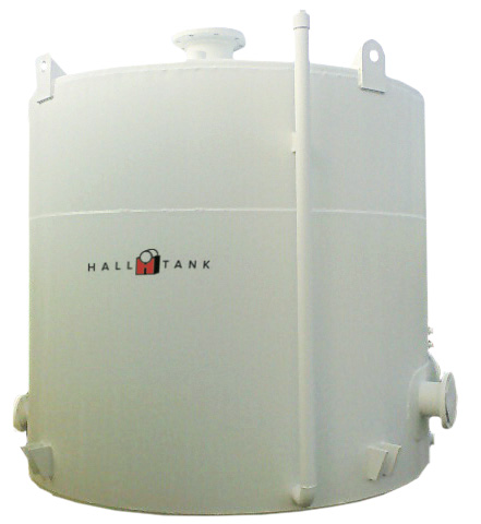 F921 DOUBLE-WALL VERTICAL STEEL STORAGE TANK