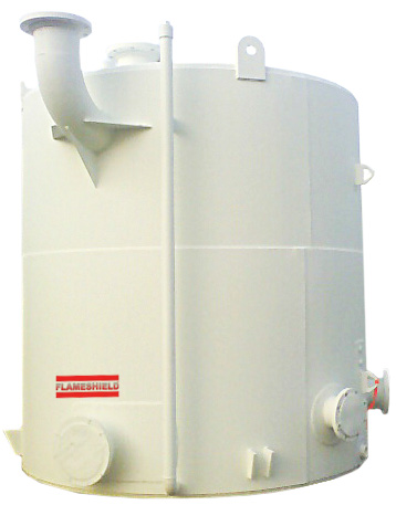 FLAMESHIELD FIRE-TESTED STEEL VERTICAL STORAGE TANK
